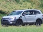 Lộ diện ảnh thử nghiệm của anh cả Honda CR-V là Pilot 2019