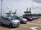 Loạt xe miễn thuế của Toyota và Mitsubishi cập cảng Hiệp Phước