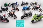Điểm danh những mẫu mô tô tốt nhất năm 2017