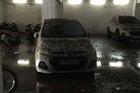 Mưa lớn kéo dài tại Bà Rịa - Vũng Tàu khiến hàng loạt ô tô