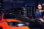 Cô nàng cá tính và gợi cảm bên BMW X6 độ Hamann