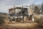 Lamborghini Aventador làm máy kéo và những ý tưởng ghép xe điên rồ