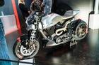 Cận cảnh mô tô chỉ có đúng 23 chiếc do hãng xe của tài tử Keanu Reeves sản xuất