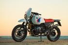 BMW R NineT khoác lên mình bộ trang bị khủng sẵn sàng vượt Dakar