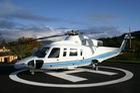Vì sao bãi đáp máy bay trực thăng lại có chữ
