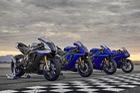Yamaha nâng cấp cặp đôi siêu mô tô YZF-R1M và YZF-R1
