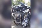 Honda CR-V nát bét sau vụ tai nạn kinh hoàng, 2 đứa trẻ ngồi trong xe không hề bị xây xước nhờ vật này