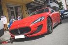 """""""Hàng độc"""" Maserati GranTurismo Sport màu đỏ trên phố Sài Gòn"""