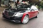 Choáng với ngoại thất chiếc xe siêu sang Mercedes-Maybach S500 tại Hà thành