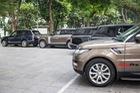 9 xe sang Range Rover tập kết ở Hà Nội