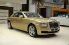 Cận cảnh xe siêu sang Rolls-Royce Ghost mang cảm hứng ốc đảo trên sa mạc