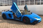 Siêu xe hàng hiếm Lamborghini Aventador SV mui trần thứ 2