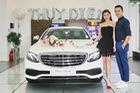 Nữ diễn viên Thúy Diễm tậu xe sang Mercedes-Benz E200 trị giá 2,1 tỷ Đồng