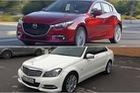Có 740 triệu đồng, chọn Mazda3 2.0 mới hay Mercedes-Benz C250 2012?