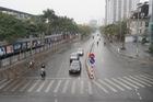 Sớm đầu năm Mậu Tuất - một bức tranh giao thông Hà Nội thật khác