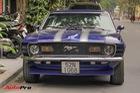 Huyền thoại Ford Mustang Fastback 1967 xuất hiện trên phố Hà Nội