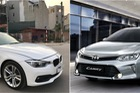 Hơn 1,1 tỷ đồng, chọn BMW 320i 2016 cũ hay Toyota Camry 2.5G mới