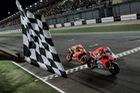 MotoGP 2018: Ducati Team có chiến thắng đầu tay khi Dovizioso đánh bại Marquez