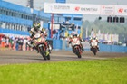 Hai tay đua 9X Việt Nam bắt đầu tranh tài giải đua mô tô châu Á 2018 tại Thái Lan