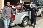 Chuyện hi hữu: Xe Honda bị mất cắp tìm lại được chủ sau 17 năm xa cách