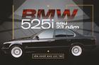 Hành trình lột xác BMW 525i cũ nát tuổi đời hơn 2 thập kỷ của nhóm người trẻ Việt