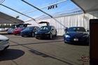 Hết chỗ, Tesla lắp ráp Model 3 trong... lều ngoài nhà máy