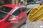 Sợ trộm cắp, chủ xe hơi nghĩ ra cách thức