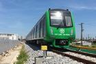 Tàu điện tuyến Cát Linh - Hà Đông chính thức đóng điện lưới Quốc Gia để chạy thử