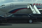 Chiếc limousine mới toanh của tổng thống Putin lần đầu xuất hiện tại nước ngoài
