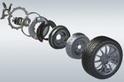 """Sản xuất xe điện sẽ dễ hơn với công nghệ """"mô-tơ trong bánh xe"""""""