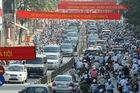 Hà Nội liên tục ùn tắc giao thông trước đại lễ nghìn năm Thăng Long