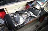 Xe 2 bánh tự cân bằng Hoverboard phát nổ, một căn hộ bị thiêu rụi