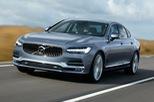 Sedan cao cấp Volvo S90 thế hệ mới lộ diện sớm