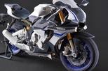 Siêu mô tô Yamaha YZF-R1M làm bằng giấy trông như thật