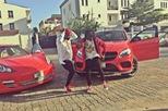 Hội con nhà giàu Nigeria cũng đua nhau khoe xe sang trên mạng