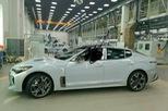 Xe sedan thể thao Kia K8 hoàn toàn mới lần đầu lộ diện