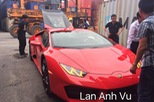Siêu xe Lamborghini Huracan LP580-2 đầu tiên cập bến Việt Nam