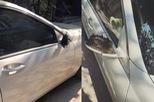 """Hàng loạt ô tô bị """"vặt gương"""" và đập vỡ kính trong ngày đầu năm"""