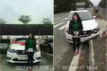 Nissan Sylphy 2016 bị tai nạn sau 10 phút rời đại lý gây xôn xao