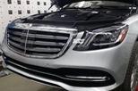 Rò rỉ hình ảnh từ trong ra ngoài của Mercedes-Benz S-Class 2018