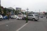 """Hà Nội: """"Xe điên"""" Toyota Fortuner gây tai nạn liên hoàn khiến 3 người bị thương"""