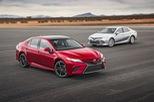 Toyota Camry 2018 có thể tránh được tai nạn ở vận tốc 40 km/h