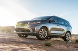 Kia Sorento bản nâng cấp mới xuất hiện trước ngày ra mắt tại Mỹ