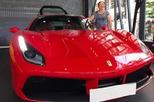 """Ca sỹ Tuấn Hưng """"chịu chơi"""" khi tậu siêu xe Ferrari 488 GTB đỏ rực"""