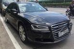 5 ô tô đâm liên hoàn trong hầm Thủ Thiêm, có cả xe sang Audi A8L giá gần 5 tỷ Đồng