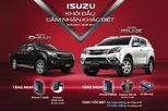 ISUZU khuyến mãi đặc biệt khi mua mu-X và D-MAX trong tháng 5,6