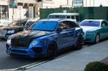 Vẻ đẹp SUV siêu sang Bentley Bentayga độ Mansory trên phố London