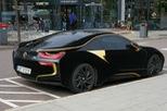 Lạ mắt với xe thể thao BMW i8 bọc nhung đen mượt mà, chịu được nắng gắt lẫn mưa rào, tuyết đổ