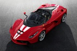 Siêu xe Ferrari LaFerrari Aperta cuối cùng xuất xưởng có giá choáng váng 227 tỷ Đồng