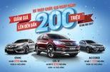 Tham vọng chiếm lĩnh thị trường, ô tô Honda giảm giá gần 200 triệu